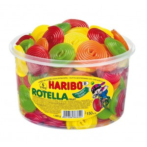 Rotella Fruit 150 st. Tubo (1,2kg) Haribo