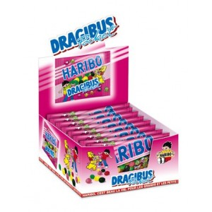 Dragibus Pocket 18 x 80g Haribo Veggie