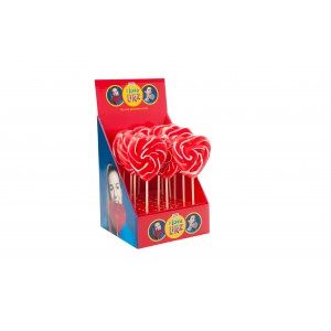 Lolly Hart Rood-Wit 17 x 80g