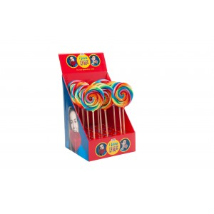 Lolly Spiraal Regenboog 17 x 80g