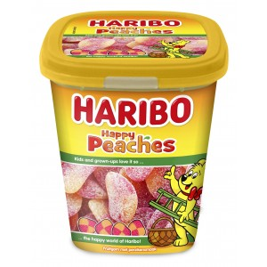 Candy Cups Happy Peaches (Perziken) 190g Haribo