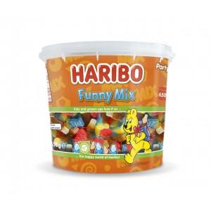 Mini Tubo Funny Mix 650g Haribo Veggie
