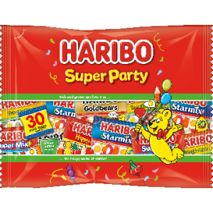 Super Party 480g (+-30 Mini Zakjes) Haribo
