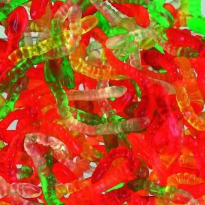 Gloeiwormen 1kg Haribo