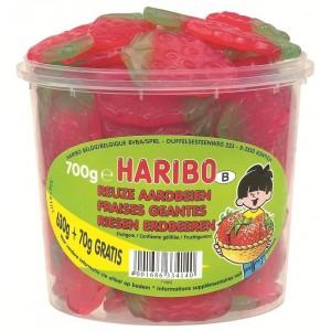 Mini Tubo Aardbeien 700g Haribo Veggie